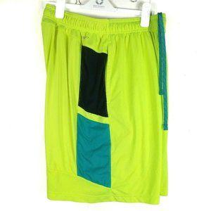 Nike Mens Dri Fit Active Wear Shorts Large Neon